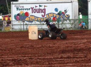 2018 Fair ATV Rodeo and carnival rides